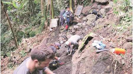 world war ii, world war ii crash site, arunachal pradesh, arunacahal world war ii, world war ii soldiers, soldier remain in arunachal, latest news, indian express, india news, us india, world war sodliers, narendra modi, pm modi, latest news