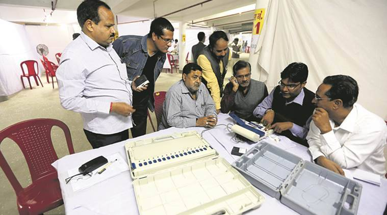 Oppn blames EVMs for BJP win in UP civic polls