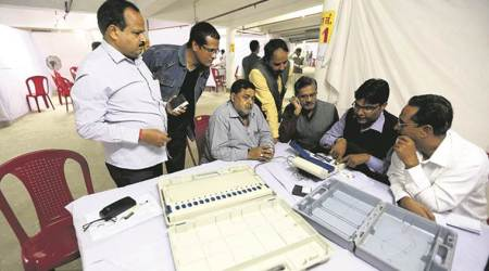 UP civic polls: Congress leader Pradeep Mathur alleges EVM tampering