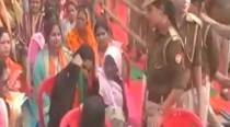 Woman asked to take off burqa at CM Adityanath's rally in Balia, probe ordered