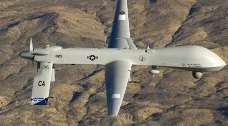 No drone strike outside Afghanistan, says Pentagon