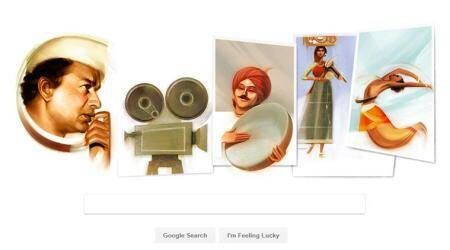 Google Doodle salutes pioneer of Indian cinema V Shantaram on his 116th birthday