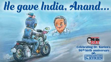 National Milk Day, Verghese Kurien, Amul, Amul topicals, Sudarsan Pattnaik, Father of White Revolution, indian express, indian express news