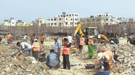 Versova beach clean-up: Afroz Shah, volunteers get Union minister'ssupport