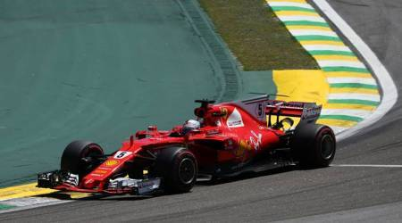 Sebastian Vettel wins Brazilian Grand Prix; Lewis Hamilton finishes fourth