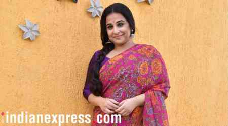 NTR biopic: Vidya Balan gets a warm welcome