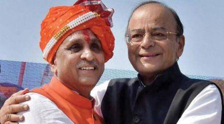 Gujarat elections: On CM Vijay Rupani route to nomination, a dam & temple after temple