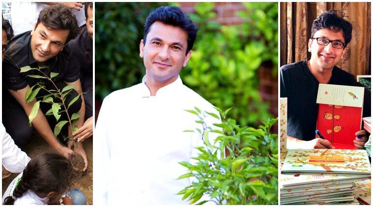 vikas khanna, chef vikas khanna, vikas khanna book, 28th book vikas khanna, vikas khanna books, a tree named ganga, give a tree campaign, give a tree, smile foundation, indian express, indian express news