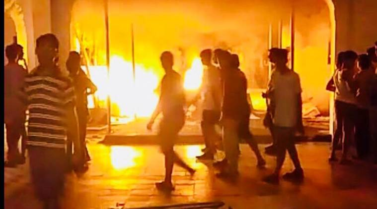 Chennai: Arson, rampage at Sathyabama University after first year student kills self