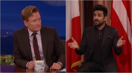 Vir Das was a guest on Conan's show and he was unapologetically funny