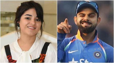 Zaira Wasim is in awe of Virat Kohli but Mary Kom is her favourite