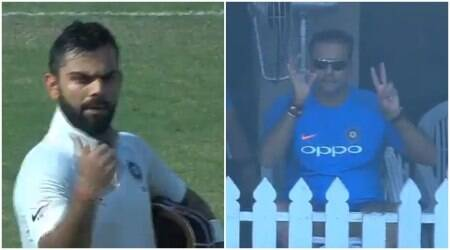 Virat Kohli to Ravi Shastri: When should we declare? Team India coach replies in coded signal