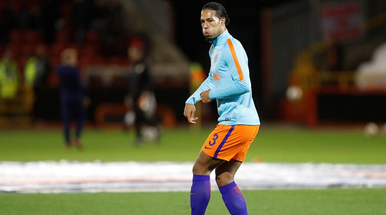 Virgin van Dijk in action for Southampton