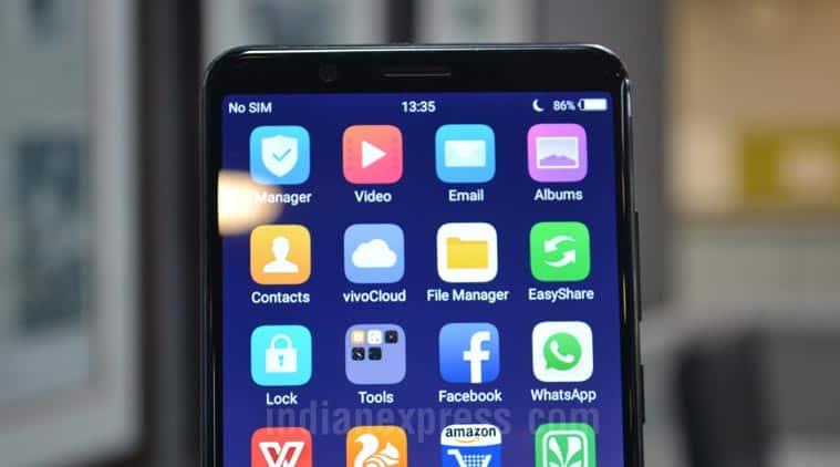 Vivo V7 Plus display