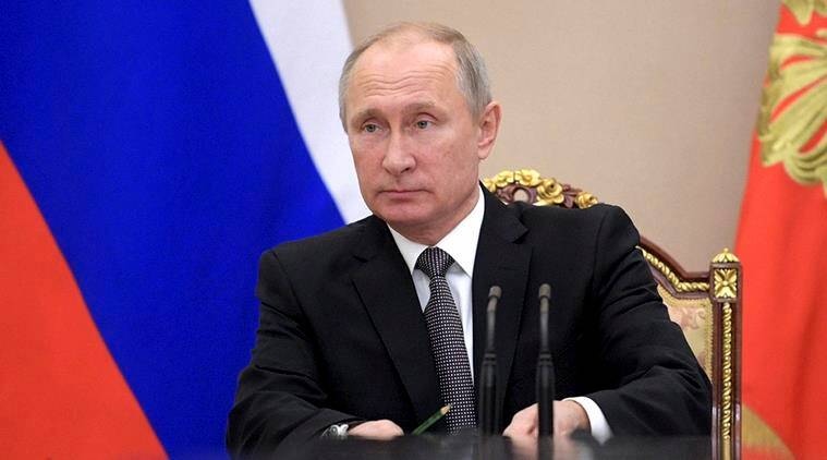 Vladimir Putin, Putin, Russian President, Russia elections, Russia presidential elections, world news, Indian express news