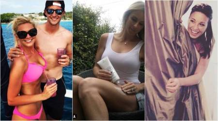 WAGs of England, Australia cricketers.