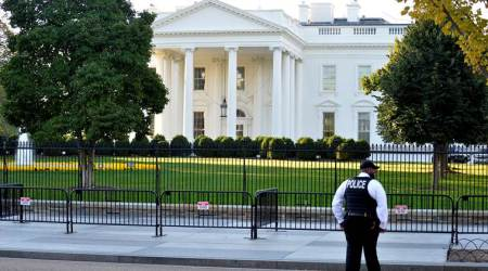 White House lockdown lifted, 1 person arrested