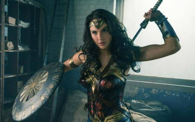 Gal Gadot plays Wonder Woman in DC Comics film