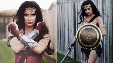 Make-up artist creates Wonder Woman costume with Yoga mat – and it's all under Rs 1950