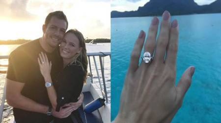 Caroline Wozniacki enjoys 'Happiest day of life' after engagement to NBA star David Lee