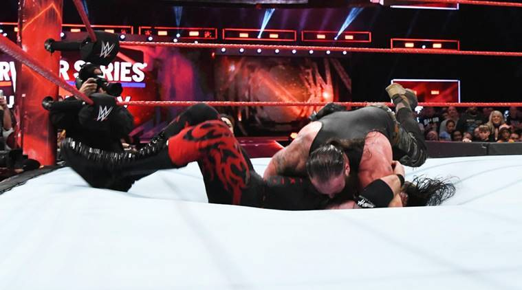 Braun Strowman Sends Kane Through The Ring To Close Off Raw