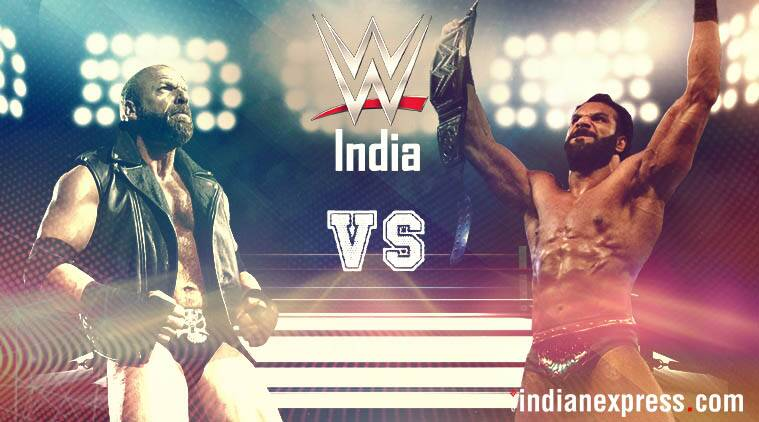 Triple H returns to the WWE ring to face Jinder Mahal