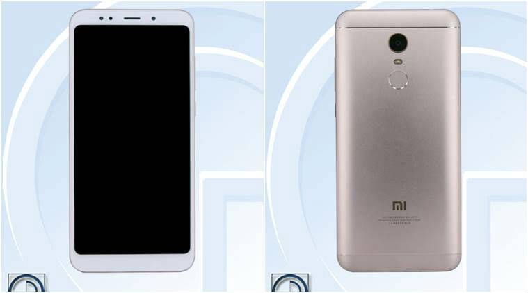 Redmi Note 5 spotted online leaked image