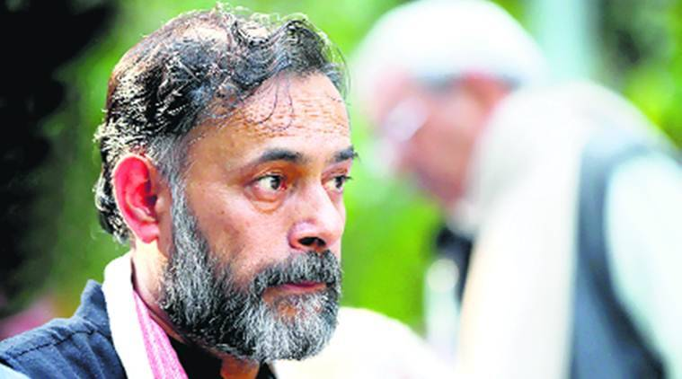 Yogendra Yadav, All India Kisan Sangharsh Coordination Committee, Farmers, minimum support prices, MSP, India News, Indian Express News