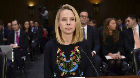 Former Yahoo CEO Marissa Mayer, Yahoo data breaches, cyber security, former Equifax CEOs, 2016 US elections, Verizon, Senate Commerce Committee, FBI, Russian intelligence agents, Equifax data hack, Richard Smith, state-sponsored hackers, Russian hackers, cyber crimes, Yahoo accounts, US senators, consumer information safeguard