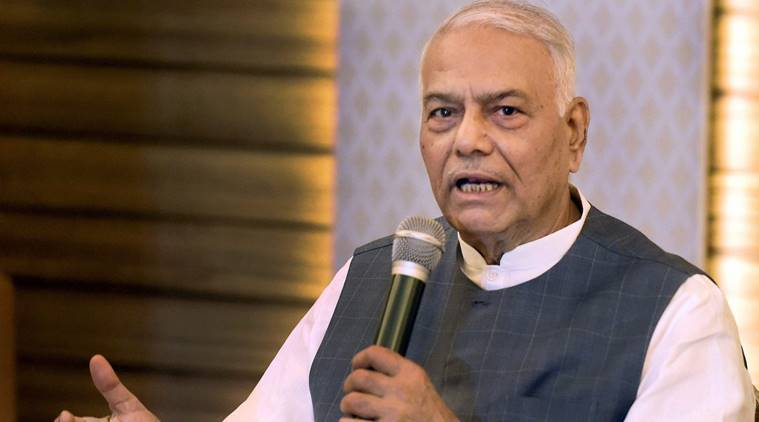 Former Union minister Yashwant Sinha. (File)