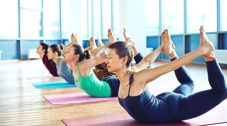 pilates, exercises, gymming, training, yoga, pilates at home, exercises at home, fitness addict, indian express, indian express news