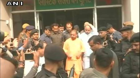 NTPC explosion: UP CM Yogi Adityanath visits blast victims at Lucknow Civil Hospital