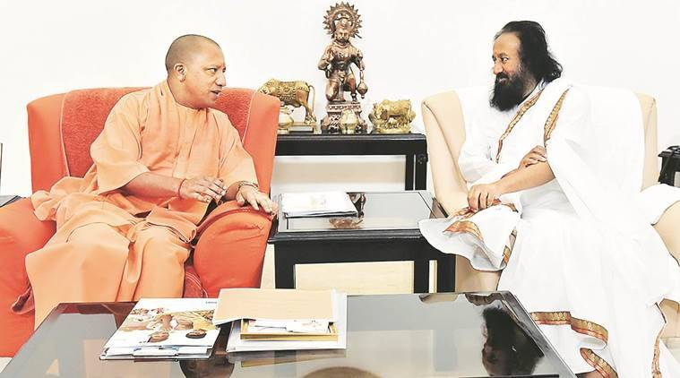 BJP slams Asaduddin Owaisi over remarks against Sri Sri Ravi Shankar