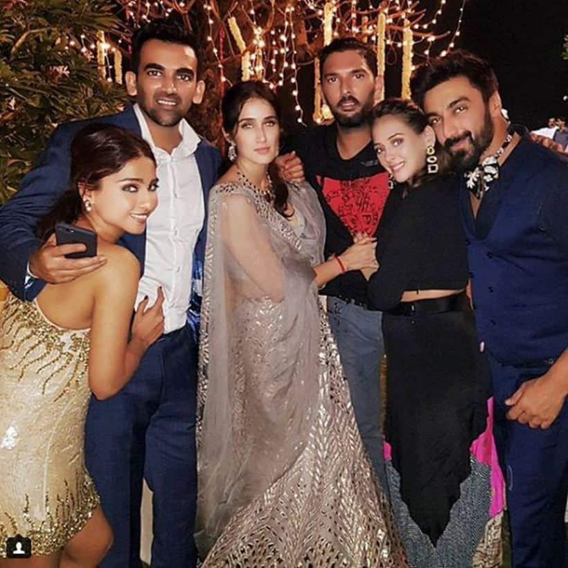 Zaheer Khan-Sagarika wedding