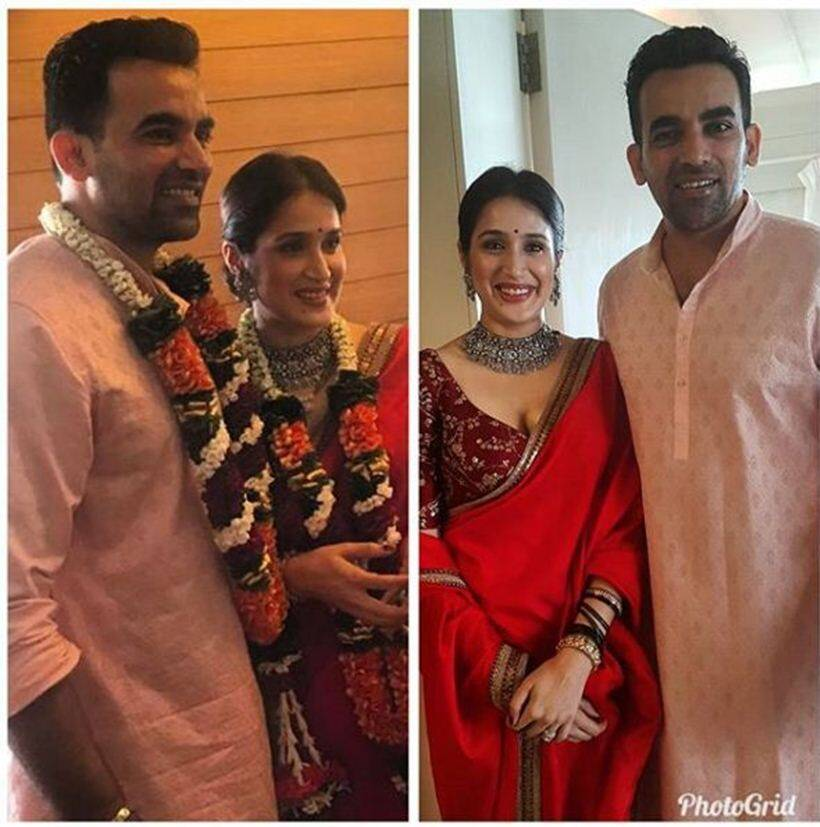 Zaheer Khan, Sagarika Ghatge get married