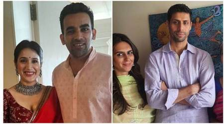 Zaheer Khan marries Bollywood actress Sagarika Ghatge; Ashish Nehra attends celebrations, see photos