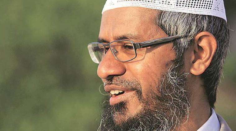 India says it has made a formal request for extradition of Islamic preacher Zakir Naik