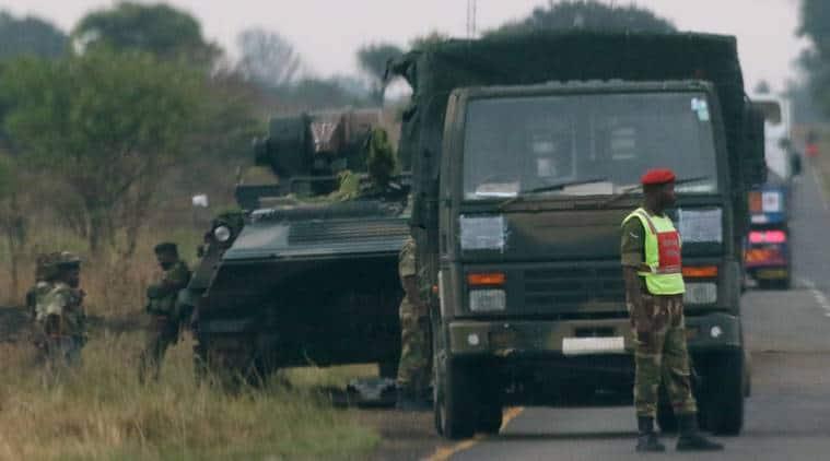 Zimbabwe army says President Robert Mugabe safe