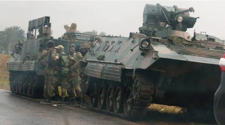 Zimabawe military