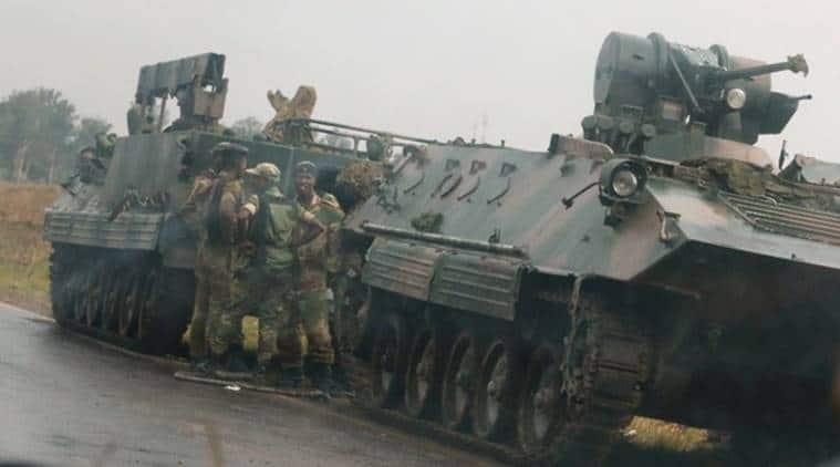Zimbabwe military says Mugabe is safe