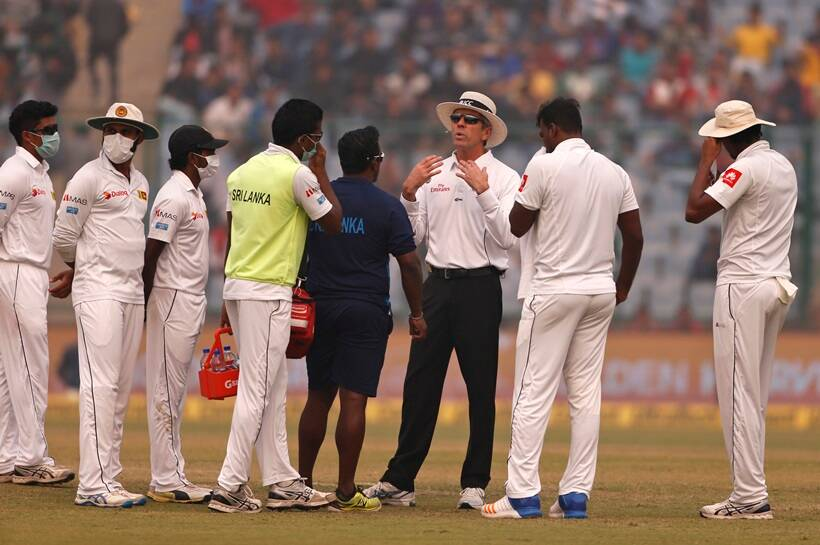Umpires were called on numerous times to take a decision on the game