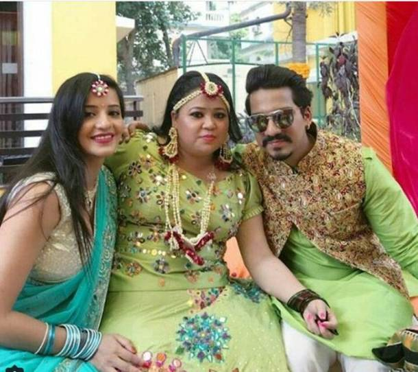 photos of monalisa at bharti singh wedding