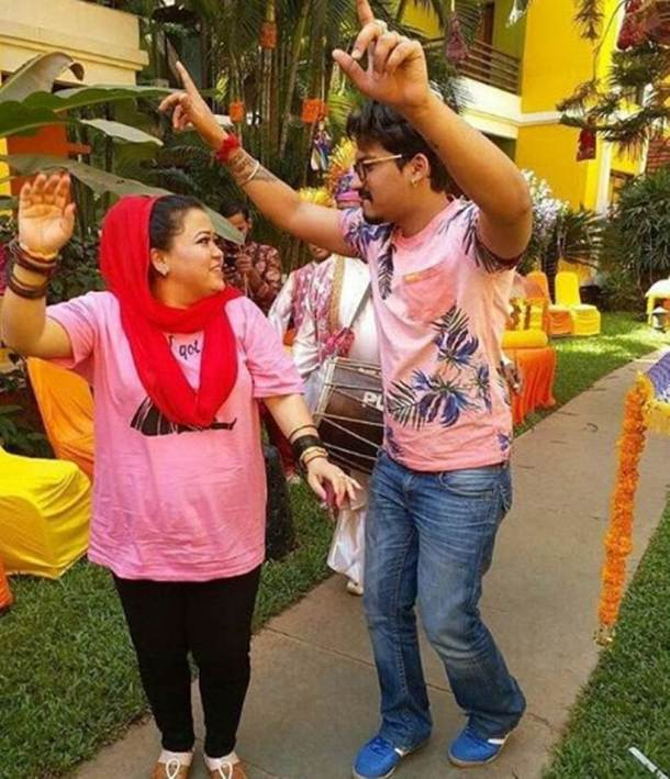 bharti singh and haarsh limbachiyaa dance at their wedding