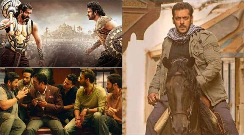 biggest bollywood openers at the box office tiger zinda hai, raees, golmaal again, baahubali