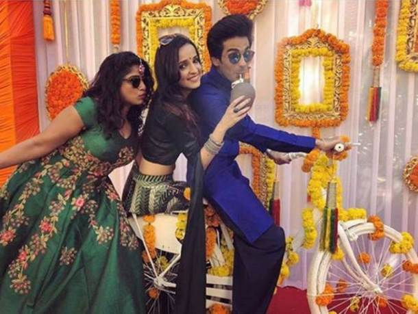 RJ mallishka, sanaya irani and mohit sehgal at Bharti singh's wedding functions