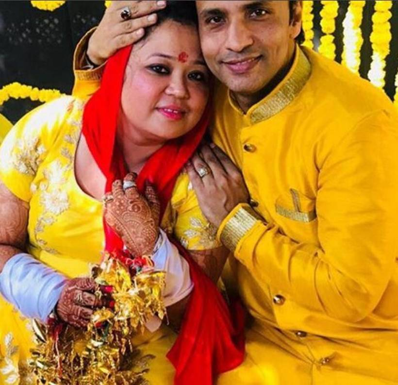 rajiv thakur at bharti singh goa wedding