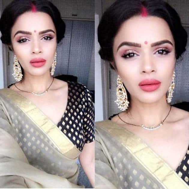 aashka goradia married, aashka goradia instagram, aashka post wedding images
