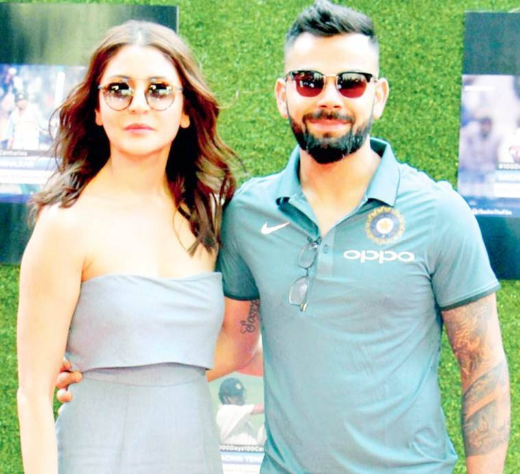 anushka sharma & virat kohli at sachin a billion dreams premiere