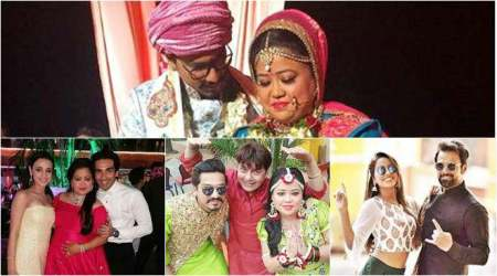 bharti singh wedding photos