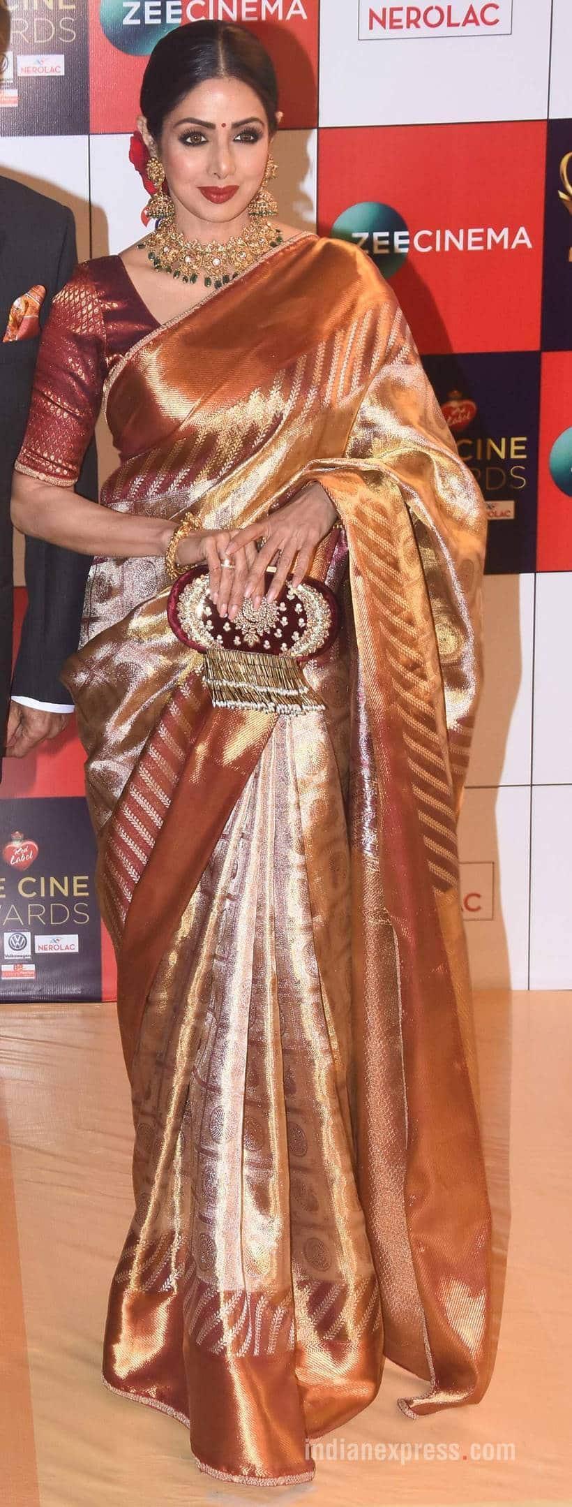 Sridevi, Sridevi latest photos, Sridevi sabyasachi saris, Sridevi fashion, Sridevi ethnic fashion